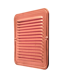 Copper Square Ventilation Grid with Screen