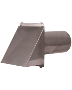 Stainless Steel Wall Dryer / Exhaust Vent