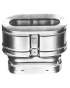 Vent Pipe Oval Cap