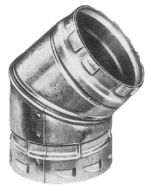 Vent Pipe 45 Degree Elbow