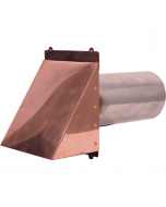Copper Wall Dryer / Exhaust Vent
