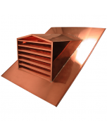 Copper Peak Top Dormer Vent