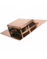 Copper Rectangular Attic Roof Vent