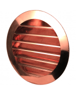 Copper Round Louvered Gable Wall Vent