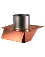 Copper Under Eave & Soffit Dryer Vent / Exhaust Vent